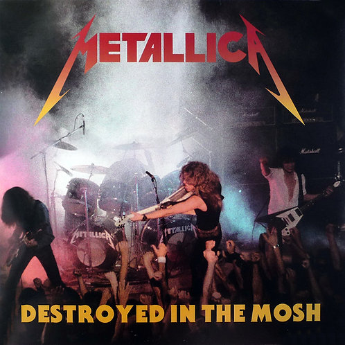 METALLICA LP Destroyed In The Mosh (White Coloured Vinyl)