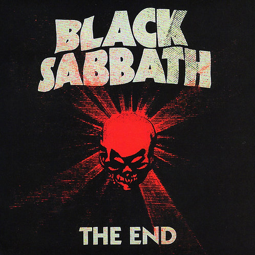 BLACK SABBATH LP The End (Previously Unreleased)