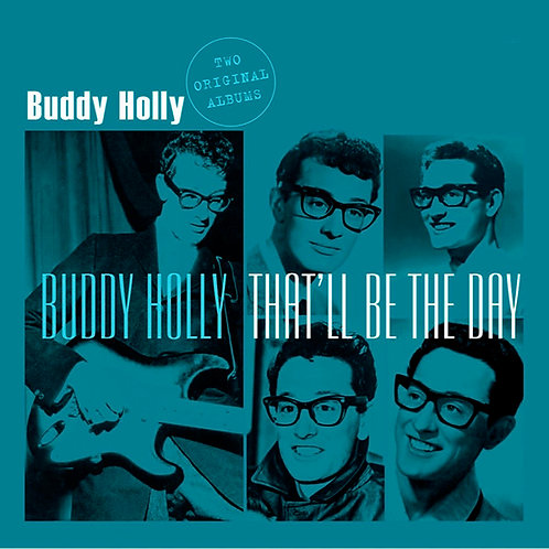 BUDDY HOLLY LP That'll Be The Day (Two Original Albums)