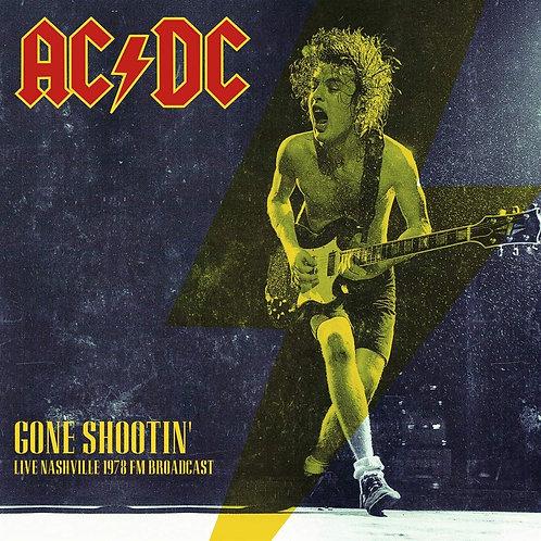 AC/DC LP Gone Shootin' Live Nashville 1978 FM Broadcast