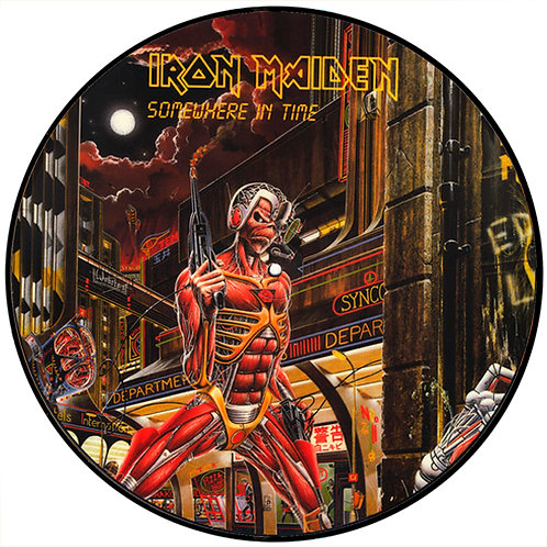 IRON MAIDEN LP Somewhere In Time (Picture Disc)