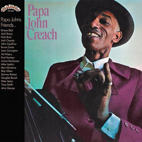 PAPA JOHN CREACH LP Papa John Creach (Blue Coloured Vinyl)