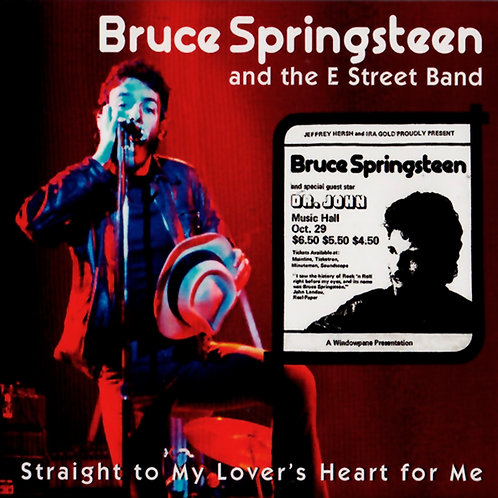 BRUCE SPRINGSTEEN 2xCD Straight To My Lover's Heart For Me