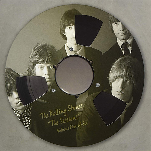 "ROLLING STONES 10"" ""The Sessions"" Volume Five Of Six (Clear Vinyl)"