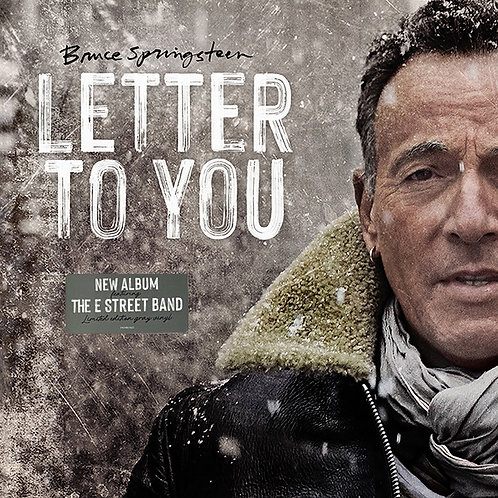 BRUCE SPRINGSTEEN 2XLP Letter To You (Limited Edition Gray Vinyl)