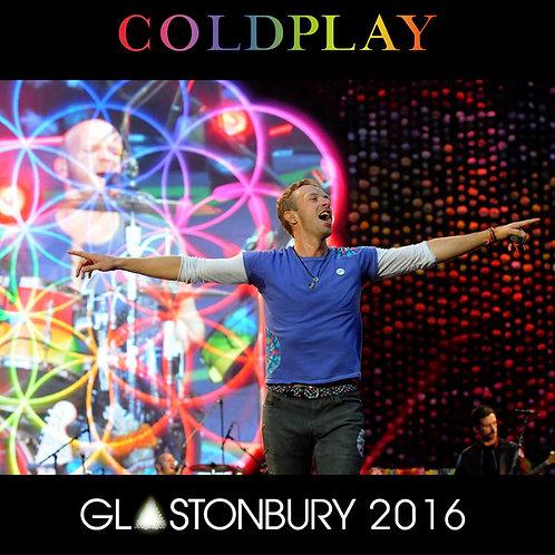 COLDPLAY LP Glastonbury 2016