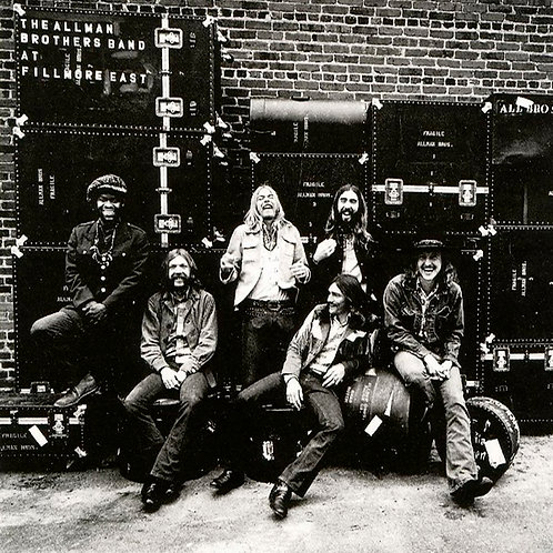 ALLMAN BROTHERS BAND 2xLP At Fillmore East