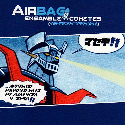 AIRBAG LP Ensamble Cohetes (Blue Coloured Original Vinyl)