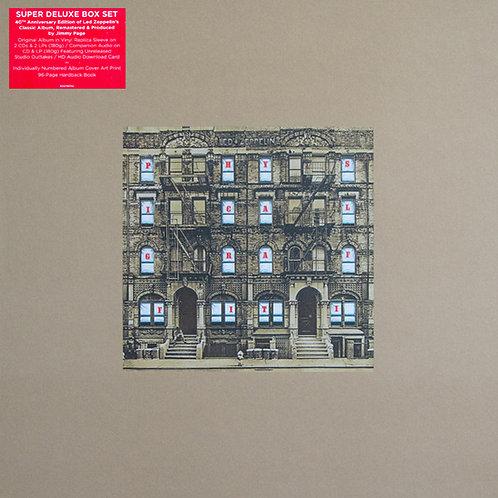 LED ZEPPELIN 3xLP+3CD BOX SET Physical Graffiti (Super Deluxe Box Set Edition)