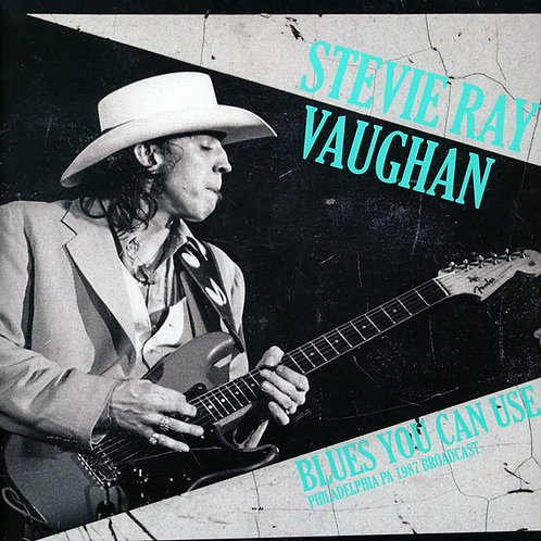 STEVIE RAY VAUGHAN 2xLP Blues You Can Use - Philadelphia Pa 1987 Broadcast