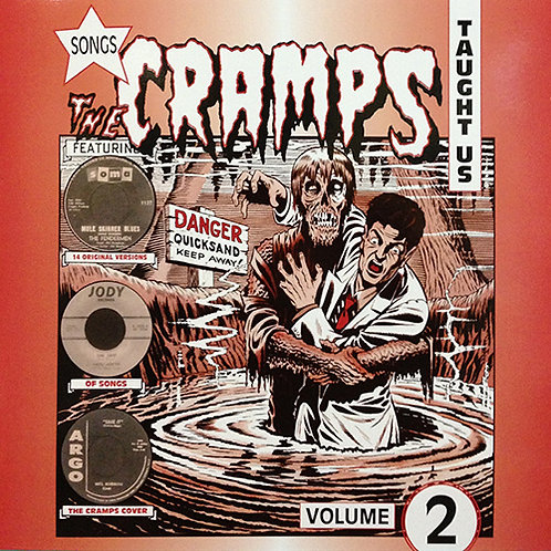 VARIOS LP Songs The Cramps Taught Us Volume 2