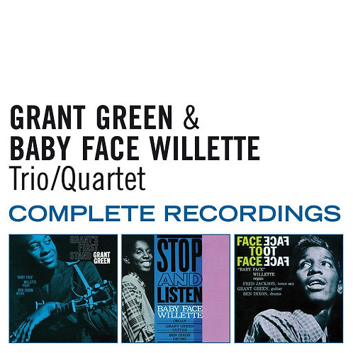 GRANT GREEN & BABY FACE WILLETTE 2xCD Complete