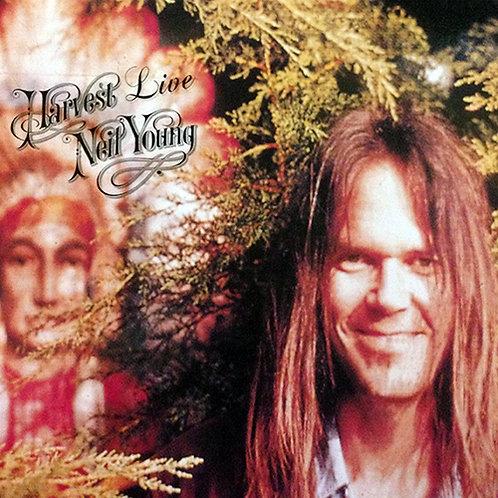 NEIL YOUNG LP Harvest Live (Rare 1970)