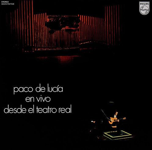 PACO DE LUCIA LP En Vivo Desde El Teatro Real
