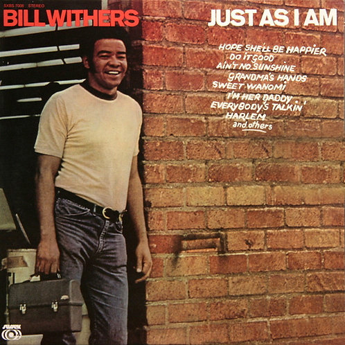 BILL WITHERS LP Just As I Am