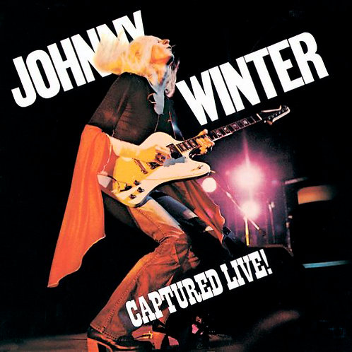JOHNNY WINTER CD Captured Live!