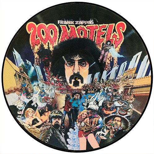 FRANK ZAPPA LP 200 Motels (Picture Disc)