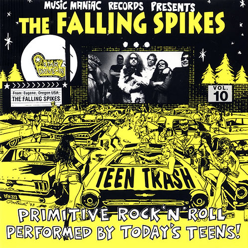 THE FALLING SPIKES CD Teen Trash Volume 10 (USA)