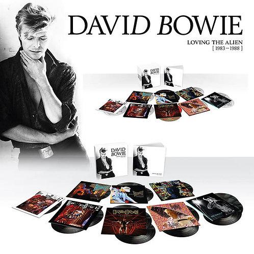 DAVID BOWIE 15xLP BOX SET Loving The Alien (1983 – 1988)