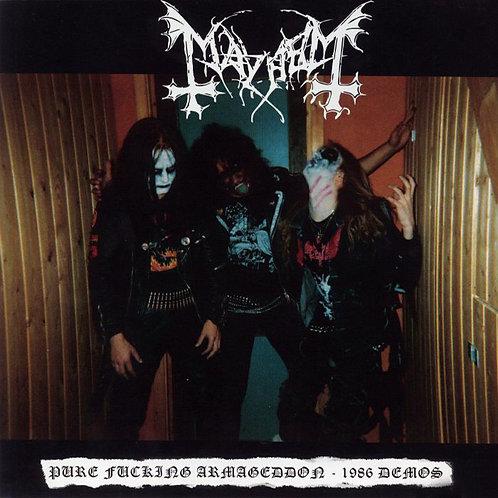 MAYHEM LP Pure Fucking Armageddon - 1986 Demos