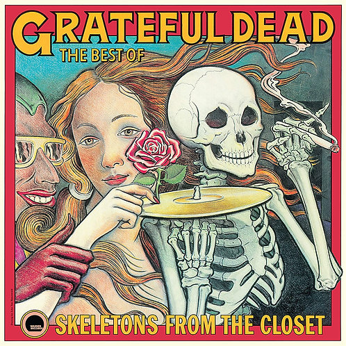 GRATEFUL DEAD LP The Best Of: Skeletons From The Closet