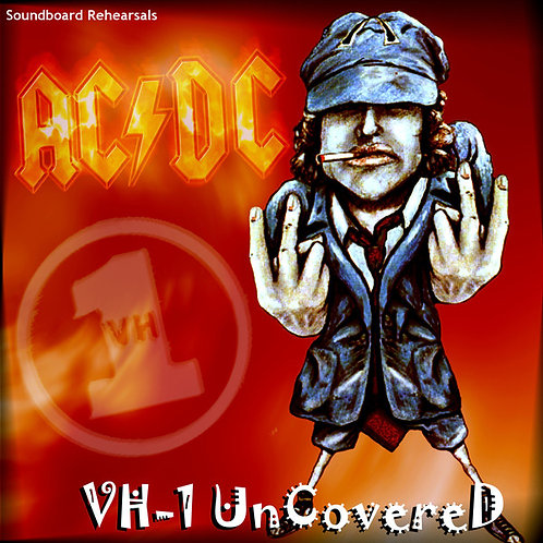 AC/DC LP VH-1 Uncovered (Red Coloured Vinyl)