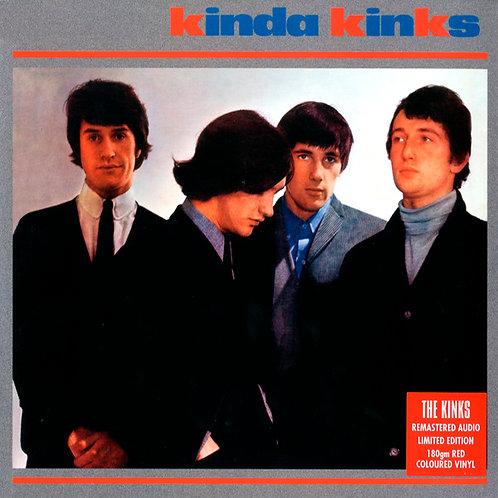 THE KINKS LP Kinda Kinks (180 Gram Red Coloured Vinyl)