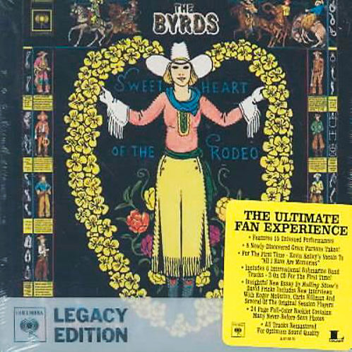THE BYRDS 2xCD Sweetheart Of The Rodeo (Ultimate Fan Experience)