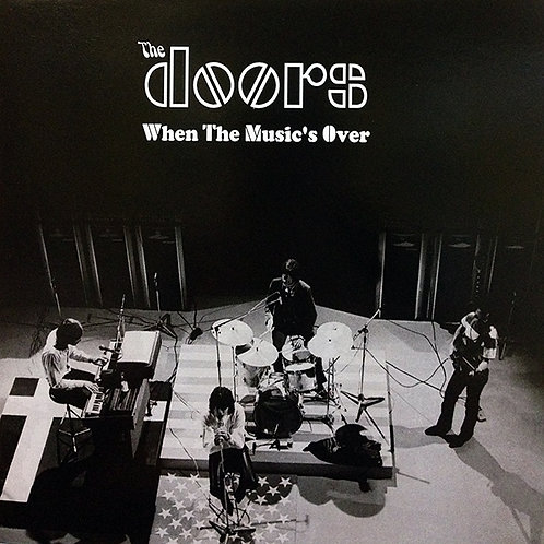 THE DOORS LP When The Music Is Over