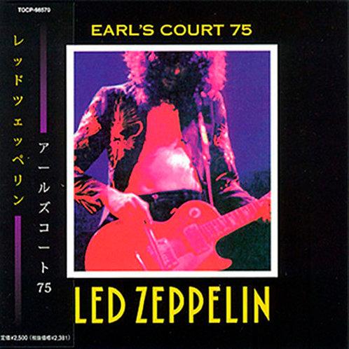 LED ZEPPELIN CD Earl's Court 75 (Japan Mini Lp)