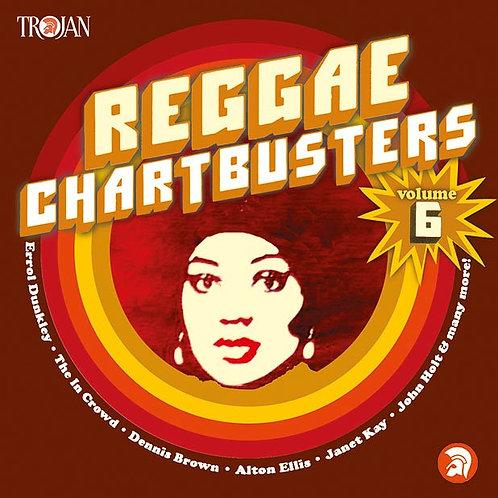 VARIOUS CD Reggae Chartbusters Volume 6