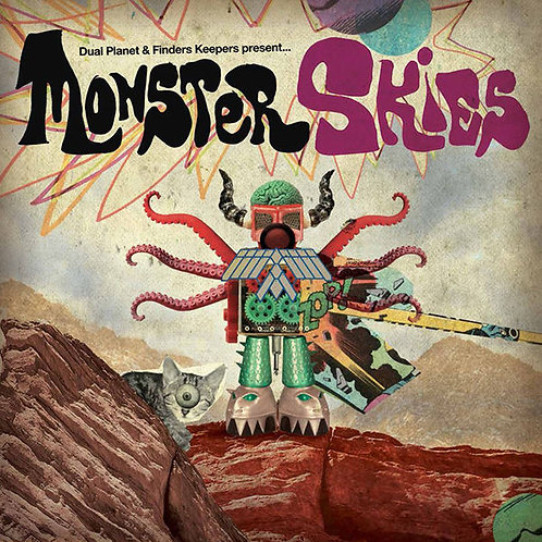 VARIOS LP Monster Skies (Horror-psychedelic-electronic compilation)