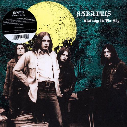 SABATTIS LP Warning In The Sky
