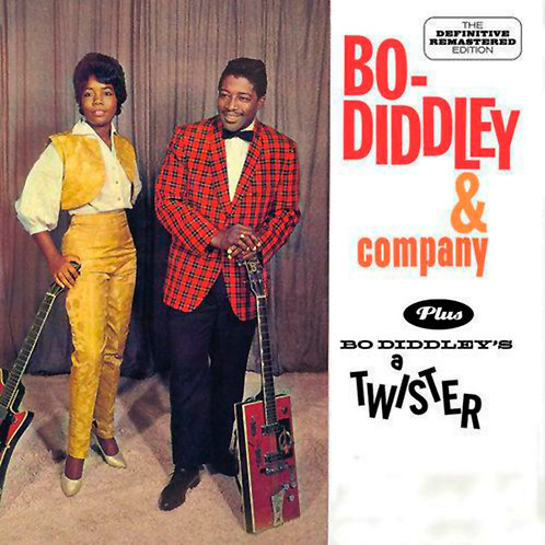 BO DIDDLEY CD Bo Diddley & Company Plus Bo Diddley's A Twister