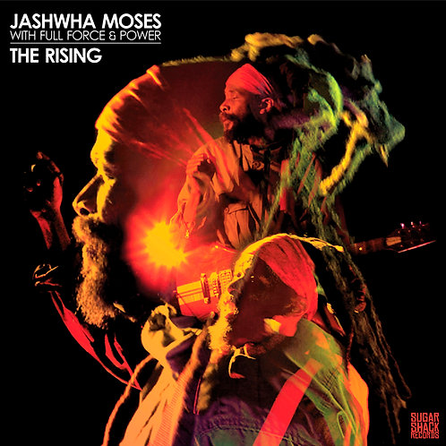 JASHWHA MOSES WITH FULL FORCE & POWER LP The Rising