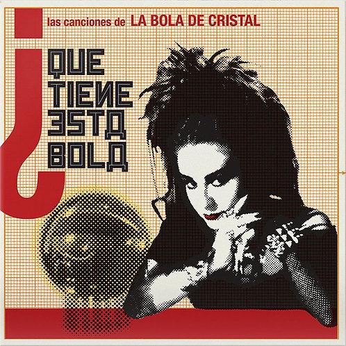 VARIOS 2xLP La Bola de Cristal (Vinilos Color Blanco y Rojo)