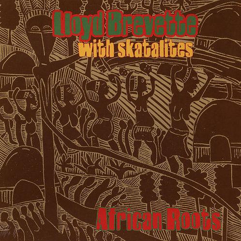 LLOYD BREVETTE LP+CD African Roots (Green Coloured Vinyl)