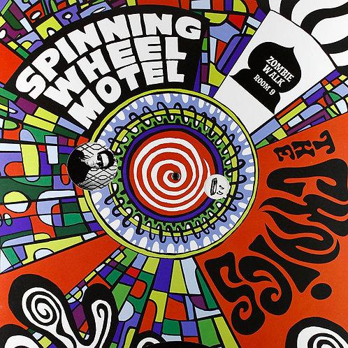 THE CYNICS LP Spinning Wheel Motel (Yellow Orange Coloured Vinyl)
