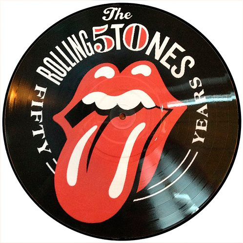 ROLLING STONES LP Fifty Years (Picture Disc)