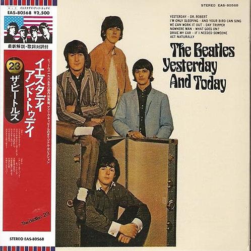 BEATLES CD Yesterday And Today (Japan 1966 Vinyl Replica)