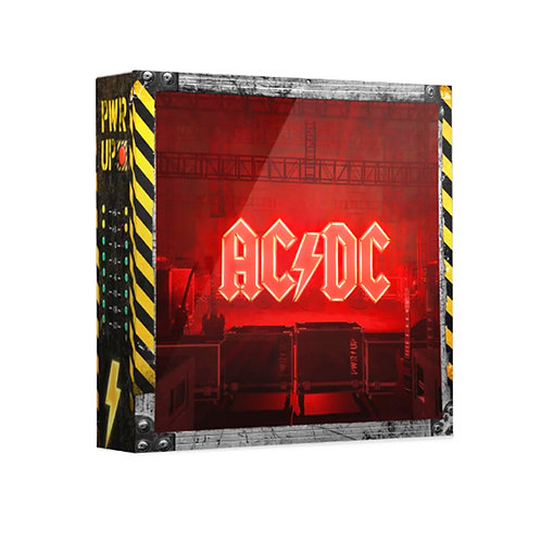 AC/DC CD BOX SET Power Up (Limited Edition Deluxe Lightbox with Sound)