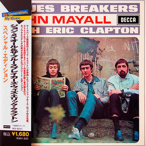 JOHN MAYALL CD Blues Breakers With Eric Clapton