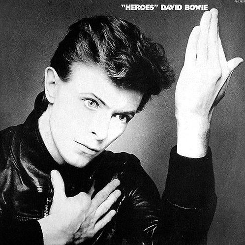 DAVID BOWIE LP Heroes (Red Coloured Vinyl)