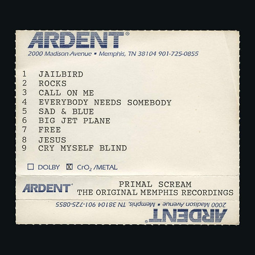 PRIMAL SCREAM 2xCD Give Out But Don't Give Up (The Original Memphis Recordings)