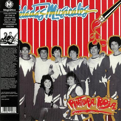 PINTURA ROJA LP Pinceladas Musicales