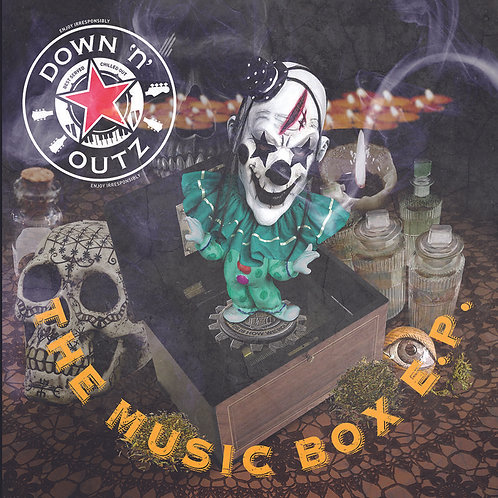 DOWN 'N' OUTZ MAXI-LP The Music Box EP (RSD Drops October 2020)