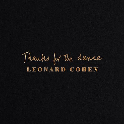 LEONARD COHEN CD Thanks For The Dance