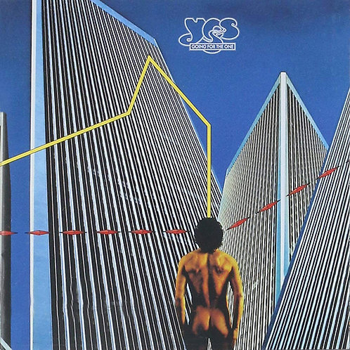 YES CD Going For The One (Mini Lp Replica Gatefold Cover)