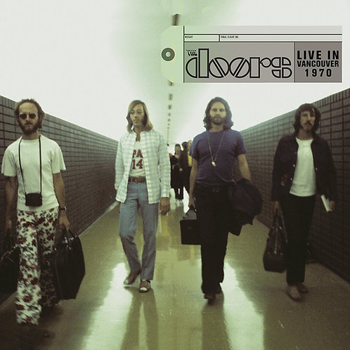 THE DOORS 2xCD Live In Vancouver 1970