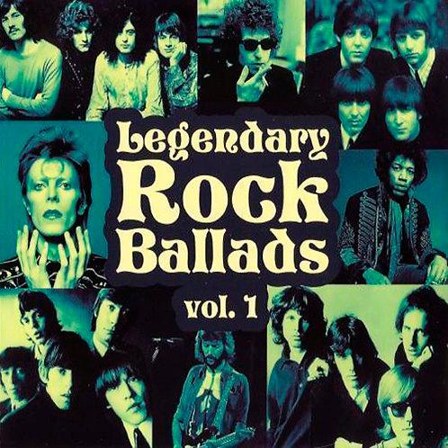 VARIOS 2xCD Legendary Rock Ballads Vol 1